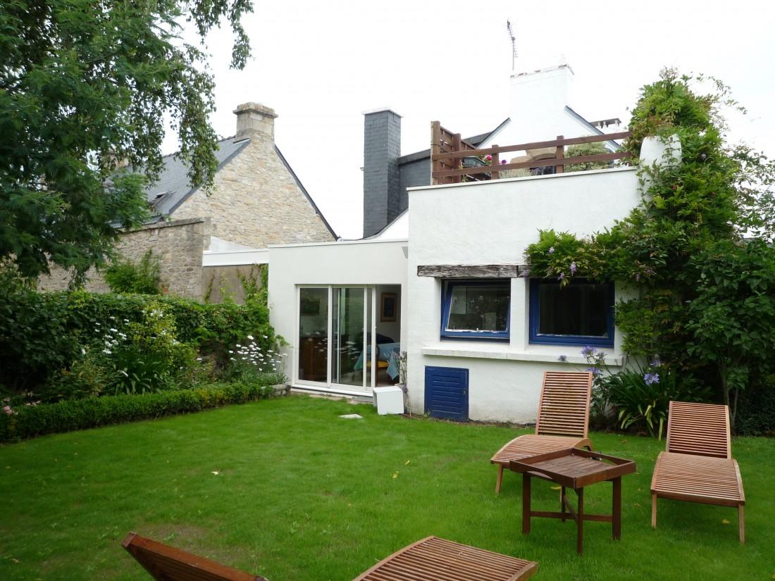 r novation extension d 39 un maison de village quiberon atelier 742. Black Bedroom Furniture Sets. Home Design Ideas
