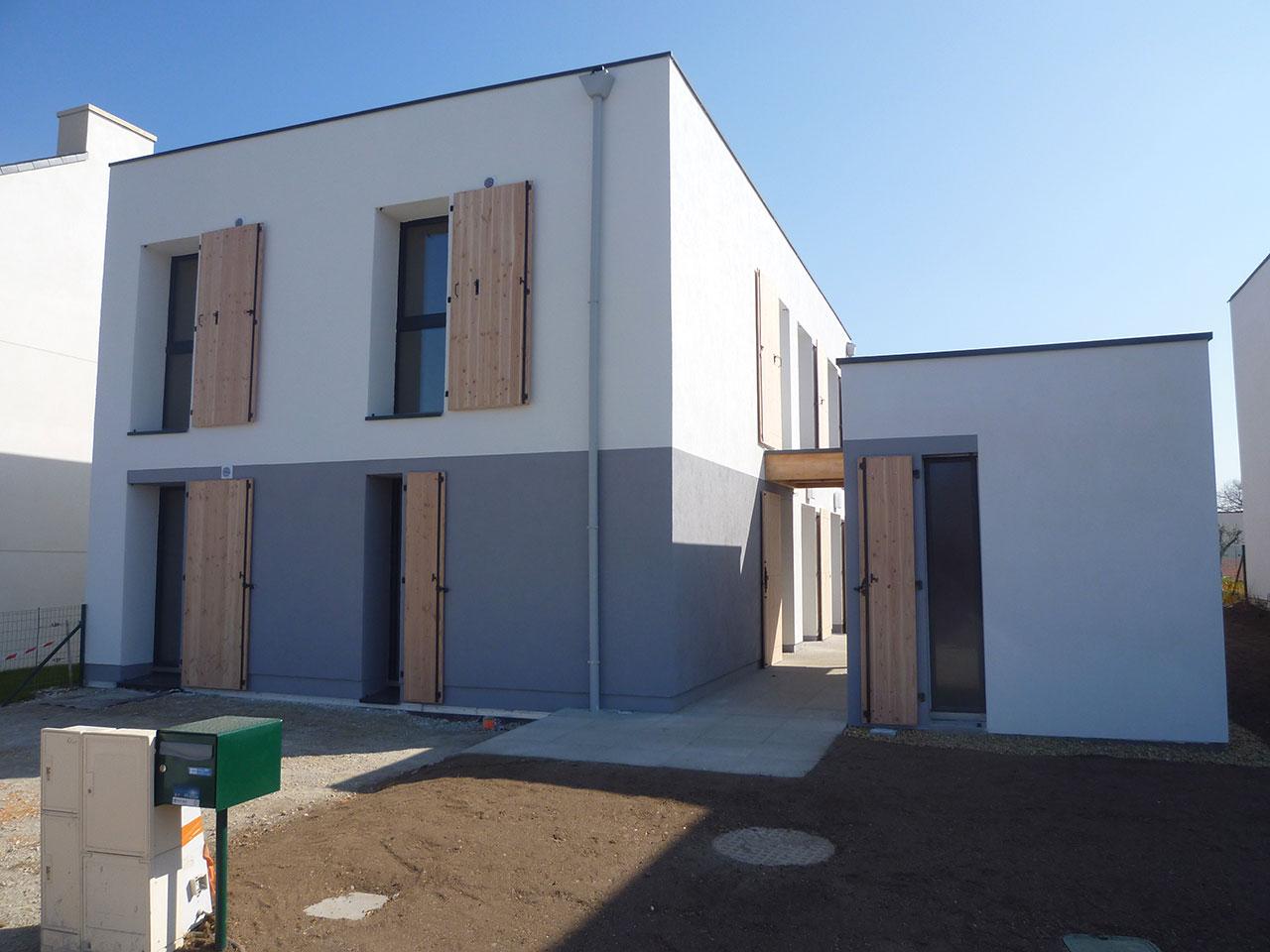 Maison passive – SaintAvé  Atelier 742