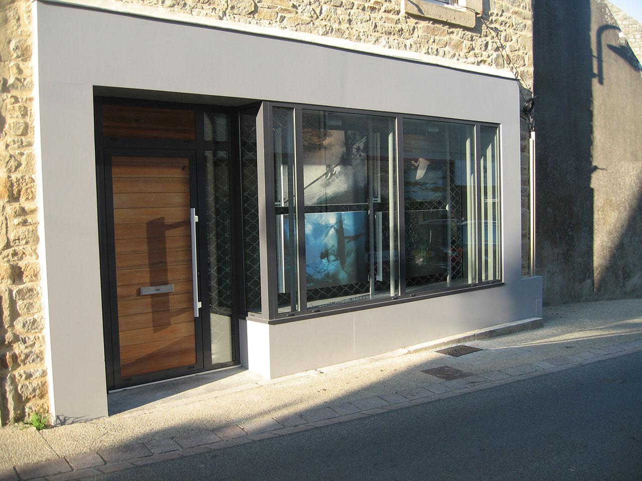 R novation d une maison de bourg en pierre locmariaquer atelier 742 - Renovation maison en pierre ...